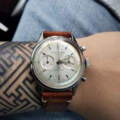 REPOST!!! Still on the wrist today #girardperregaux #gp #gpchronograph #ep4 #dialandbezel #wis #womw #horology #watch #watches #watchfam #watchesofinstagram #vintage #vintagewatch #vintagewatches #chrono #chronograph #vintagechronograph #wristwatch #wrist