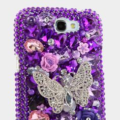"Style 406 This Bling case can be handcrafted for Samsung Galaxy S3, S4, Note 2. The current price is $79.95 (Enter discount code: ""facebook102"" for an additional 10% off during checkout)"