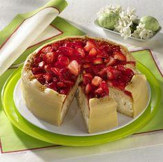 Unser beliebtes Rezept für Erdbeer-Marzipantorte und mehr als 55.000 weitere kostenlose Rezepte auf LECKER.de.
