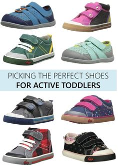Picking the Perfect Shoes for Active Toddlers // See Kai Run sneakers via @diapersdotcom  - The Style Files