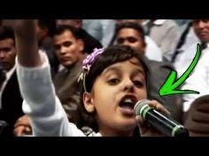 É De Arrepiar! Veja o que acontece quando esta Menina começa a cantar... - YouTube