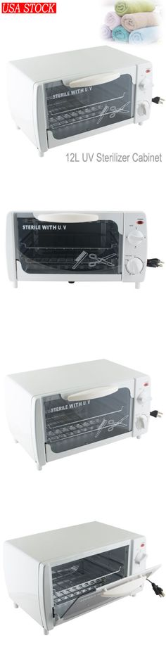 Sterilizers and Towel Warmers: 12L Professional Salon Uv Ultraviolet Tool Sterilizer Sanitizer Cabinet Spa New! -> BUY IT NOW ONLY: $52.5 on eBay!