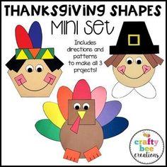 Thanksgiving Shapes