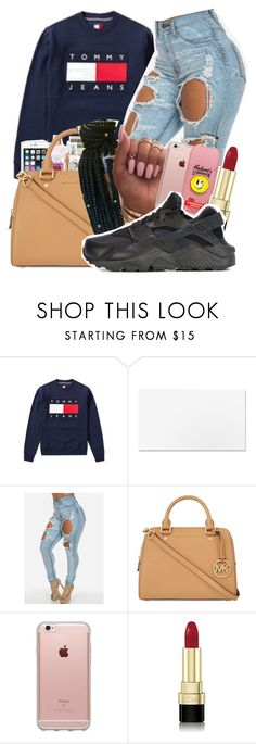 """""""Untitled #120"""" by princessjolie ❤ liked on Polyvore featuring Tommy Hilfiger, MICHAEL Michael Kors, Incase, Dolce&Gabbana and NIKE"""