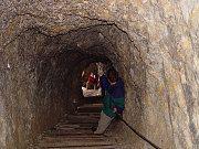 Via Ferrata - Protected Climbing Paths in the Dolomites - Via Ferrata Lagazuoi Tunnels - WW1 tunnels