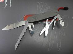 Titanium Swiss Army Knife Victorinox Alox Pioneer Farmer   custom MOD