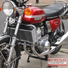 1975 Suzuki M Classic Suzuki for Sale Suzuki Gt 750, Suzuki Bikes, Suzuki Cafe Racer, Suzuki Motorcycle, Triumph Bikes, Retro Bike, Retro Motorcycle, Classic Motorcycle, Honda Cbx