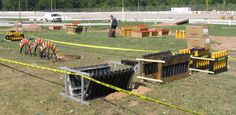 PGI Convention Mortars, Set Up in Racks (photo by Mike Hrnciar)
