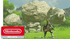 The Legend of Zelda: Breath of the Wild - Official Game Trailer - Nintendo E3 2016 - YouTube