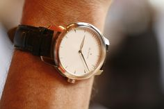 Omega Watch, Silver, Leather, Accessories, Money, Ornament