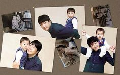 """Superman Returns"" Triplets' Calendar Sells Over Copies Song Il Gook, Korean Tv Shows, Man Se, Song Triplets, Baby Pictures, Superman, Calendar, Polaroid Film, Actors"