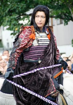 Gackt At The Kenshin Festival in 2008