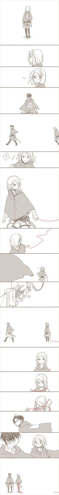 Attack on Titan/Shingeki no Kyojin - Levi and Petra----- I totally ship it!