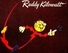 Reddy Kilowatt - created by the Alabama Power Co. in 1926.