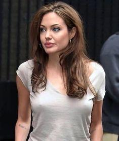 Angelina Jolie, Basic Tank Top, Actresses, Tank Tops, Singers, Portraits, Women, Fashion, Female Actresses