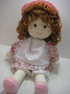 Cute handmade doll