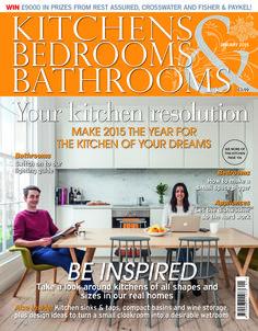 Inspiration Web Design Kitchens Bedrooms u Bathrooms magazine January