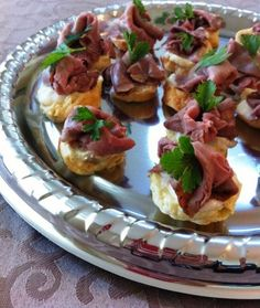 Yorkshire Canape, by Downton  Abbey Cooks. Carson-approved. If downtown does why can't we!!!!