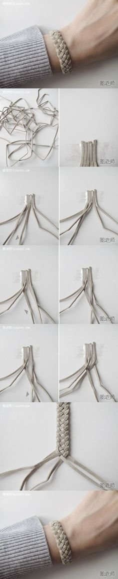 How to make your very unique bracelet step by step DIY instructions by bloknot #diyjewelry