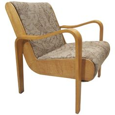 Thonet Lounge Chair | From a unique collection of antique and modern lounge chairs at http://www.1stdibs.com/furniture/seating/lounge-chairs/