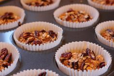 They're all cooked now!  My sugar free healthy breakfast muffins are ready