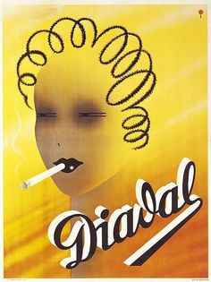 Trademark Global Vintage Apple Collection 'Diadal' Canvas Art - 35 x 47 Vintage Advertising Posters, Vintage Advertisements, Vintage Ads, Vintage Posters, Cheap Advertising, Ww2 Posters, Coffee And Cigarettes, Up In Smoke, Face Cleanser