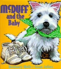 McDuff enjoys reading the paper with Fred and taking walks in the woods with Lucy, but all that changes when they bring a new baby home.  E WEL