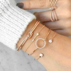 Women/'s Heart Bracelet Yellow Gold Silver Gift For Her Wedding Bridesmaid Gift Tiny Cubic Zirconia CZ Minimalist Jewelry Cuff Dainty Bridal