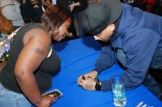 Pic Recap: J. Holiday Shows Fans Love at CD Signing Left Handed, Fans, My Love, Holiday, Vacations, Holidays, Vacation, Annual Leave
