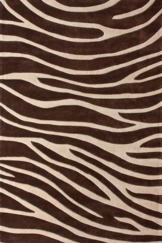 Safari Zebra Rug - I want this for our bedroom