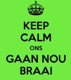 Keep calm and braai!