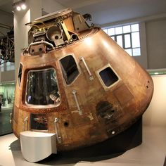 so beautiful: Apollo 10 capsule, Science Museum