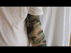 25b29bd12 UV Sun protector Temporary Tattoo Sleeve for Arms Cosplay Halloween Trib.