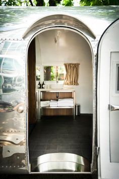 patrick dempsey home | #vintage restored #airstream outdoor hangout