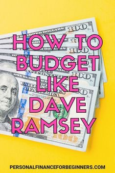 Do you want to create a budget but you aren't sure where to start? See the exact budget percentages recommended by Dave Ramsey––as well as another popular budget, the 50/30/20 budget. Living On A Budget, Frugal Living Tips, Frugal Tips, Ways To Save Money, Money Tips, Money Saving Tips, Budget Help, Create A Budget, Financial Guru