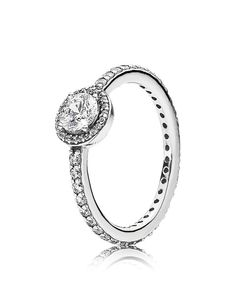 Pandora Ring - Sterling Silver & Cubic Zirconia Classic Elegance
