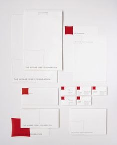 Taku Satoh Design Office 三宅一生デザイン文化財団 〈2004〉 Corporate Identity Design, Brand Identity Design, Branding Design, Web Design, Tool Design, Business Logo, Business Card Design, Japanese Branding, Envelope Design