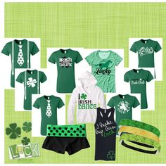 Lucky you! Have a fabulous St. Patrick's day with these fun shirts!
