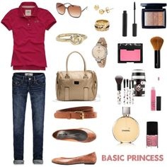 Business Casual for young girl by metrobasics on Polyvore featuring polyvore, fashion, style, Hollister Co., H&M, Full Tilt, Sephora Collection, Christian Dior, NARS Cosmetics and Forever 21