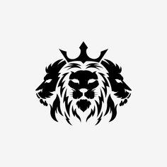 Tree Lion Head Logotype Of Vector Template Inspiration Logo Lion Head Animal Tribal Lion Tattoo, Lion Head Tattoos, Lion Tattoo Design, Leo Tattoos, Logo Lion, Lion Head Logo, Lion Face Drawing, Rasta Lion, Lion Wallpaper