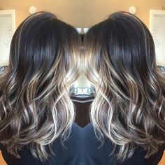 Happy Monday  @Regrann from @chelseael_ -  Happy Monday  #pittsburghhair #pittsburgh #dimensionalcolor #highcontrast #springhair #melty #nofilter #handpainted #hairpainting #balayage #freehand #Regrann