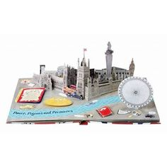 Packed with facts and profiles of famous British people and with intricate pop-up pages of London landmarks, including an opening Tower Bridge, this beautiful book provides a wealth of information about the capital city.