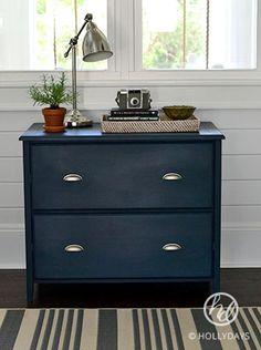 Home Filing Cabinet Makeover