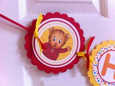 Daniel Tiger party birthday banner by BerrySweetParties
