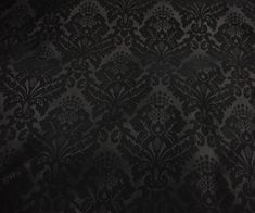 micro velvet fabric available - black velvet with the pattern heat impressed onto the fabric