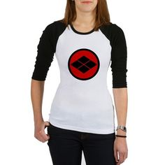 Takeda kamon Japanese samurai clan round Baseball on CafePress.com
