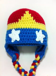 Crochet Mario, Crochet Cape, Knit Crochet, Crochet Superman, Baby Hat Patterns, Crochet Patterns, Halloween Hats, Crochet For Boys, Crochet Gifts