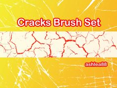 Cracked 5 - Download  Photoshop brush http://www.123freebrushes.com/cracked-5/ , Published in #GrungeSplatter. More Free Grunge & Splatter Brushes, http://www.123freebrushes.com/free-brushes/grunge-splatter/ | #123freebrushes
