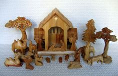 Nativity sets sold from artisans in Third World and developing countries as a fair trade nonprofit humanitarian project.