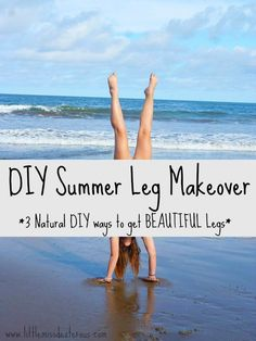 DIY Summer Leg Makeover- 3 Natural Ways to Get Beautiful Legs Summer Legs, Summer Diy, Beauty Tips For Face, Diy Beauty, Face Beauty, Diy Shampoo, Natural Cleaners, Green Life, Young Living Essential Oils